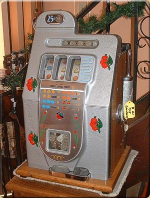 antique slot machine troubleshooting