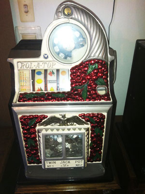 Watling 1936 Roll-A-Top Antique Slot Machine