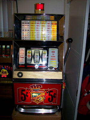 Bally 809 Antique Slot Machine