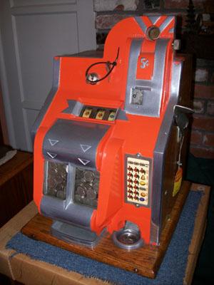 Mills qt slot machine parts racer sideways slot car review