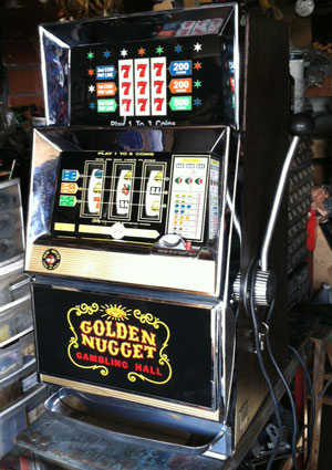 Antique Bally 831 Slot Machine