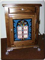 Vintage Slot Machine Stand